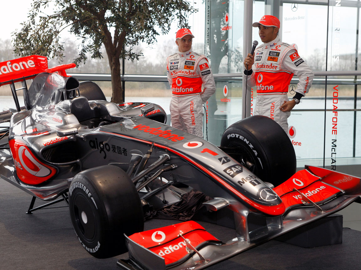 Sony ar putea fi sponsorul principal la McLaren