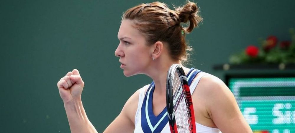 Simona Halep a invins-o pe Dellacqua si s-a calificat in semifinale la Indian Wells!