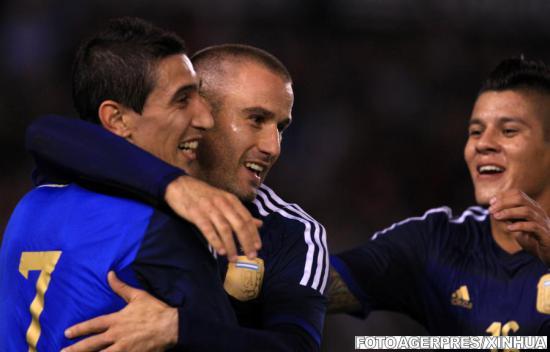 Argentina a câştigat fără emoţii amicalul cu Trinidad-Tobago, scor 3-0
