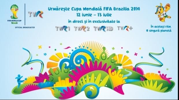 CAMPIONATUL MONDIAL DE FOTBAL 2014 ÎNCEPE AZI: Programul meciurilor din CM 2014, transmise LIVE la TV