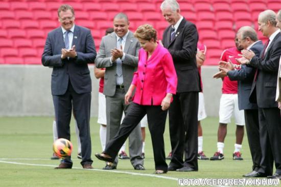 Dilma Rousseff: Brazilia este pregătită pentru Cupa Mondială