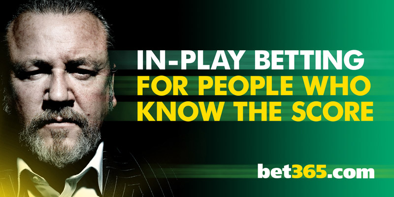 Bet In-Play on the Ryder Cup with bet365