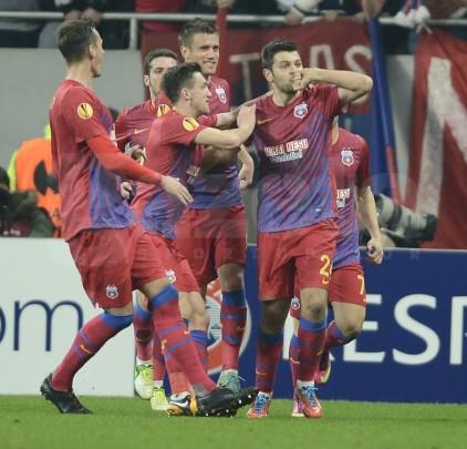 """Mai buni decît campioana Europei! Steaua – Chelsea 1-0 şi """"roş-albaştrii"""" sînt aproape de încă o minune"""