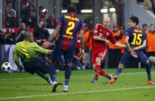 """Robben încă se mai teme de Barcelona: """"Totul e posibil!"""""""