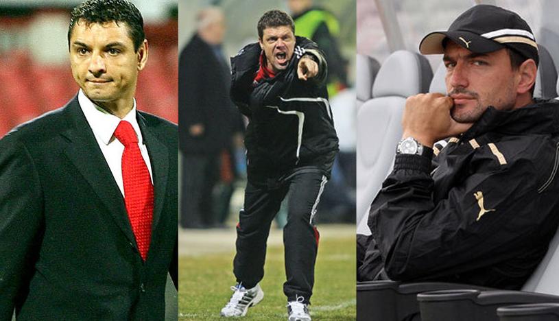 Trei variante pe bancă, niciun favorit. Ganea, Selymes şi Ionuţ Badea se bat pentru postul de antrenor la Dinamo