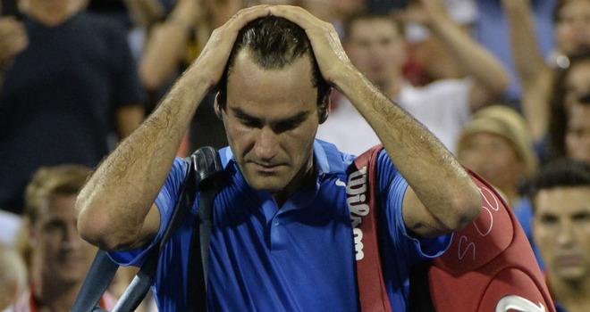 Federer a fost eliminat in optimi la US Open