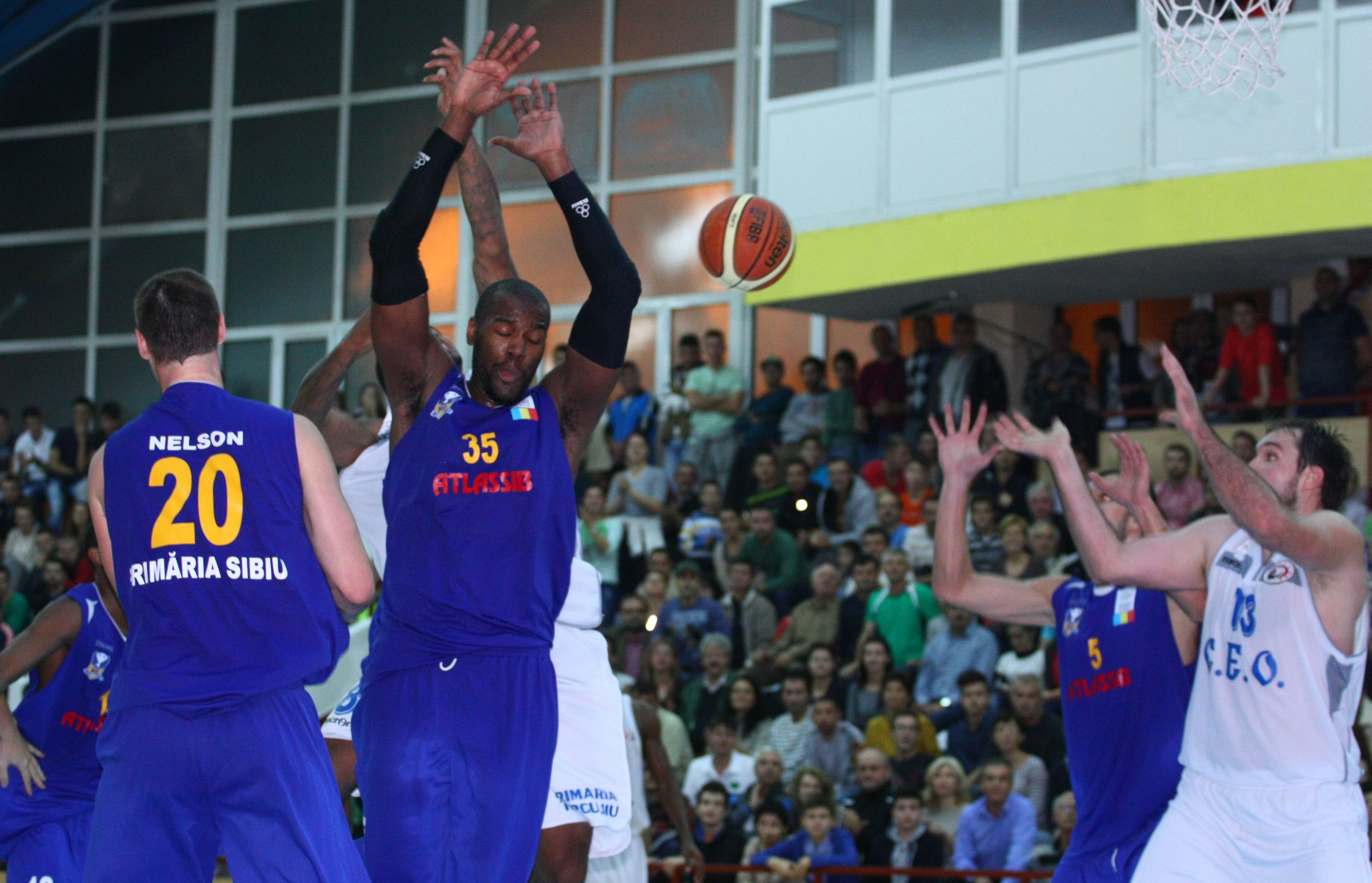 Atlassib Sibiu ramane prima in Liga Nationala