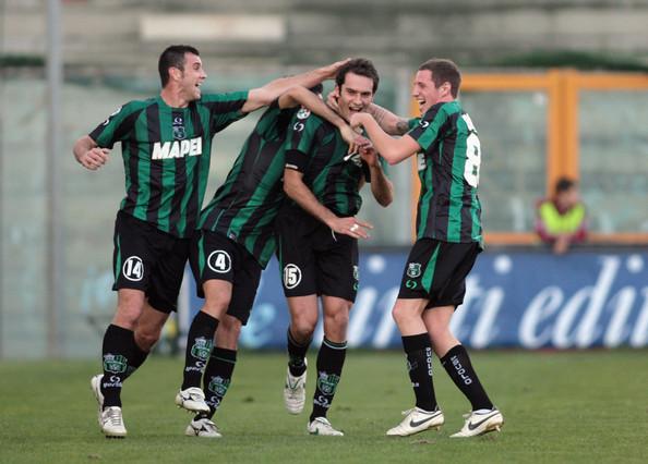 Sassuolo a ramas ultima in Serie A