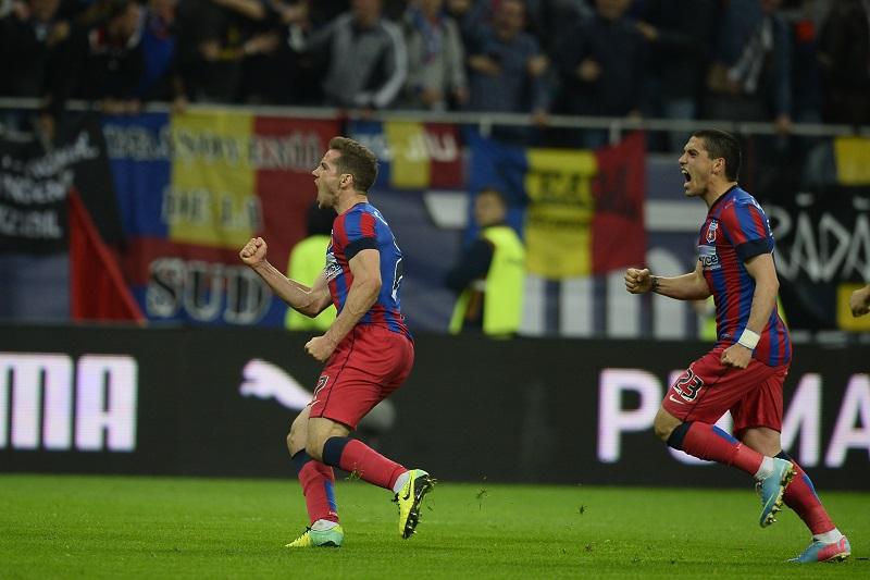 Steaua a depășit-o pe Dinamo la numărul victoriilor în meciurile directe: 55-54!