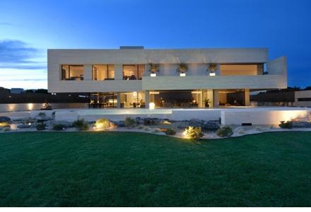 Ce frumoasa este casa lui Cristiano Ronaldo! Uite ce living spectaculos are!