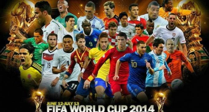 Programul si ora meciurilor de la Campionatul Mondial din Brazilia 2014