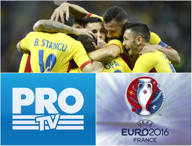 Euro 2016 – ProTV transmite LIVE 23 de meciuri. Programul complet al transmisiunilor de la Campionatul European si care e meciul zilei la Euro