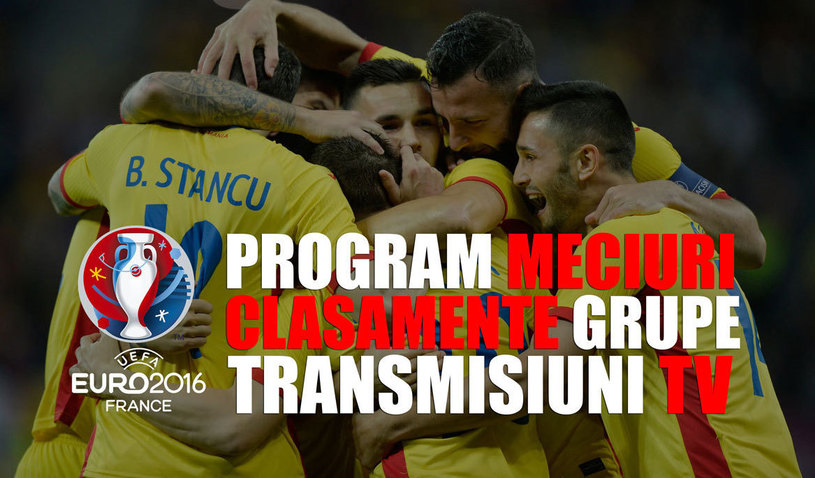 Totul despre Euro 2016! Program, clasamentele celor 6 grupe, rezultatele si unde se vad LIVE meciurile zilei de la Campionatului European
